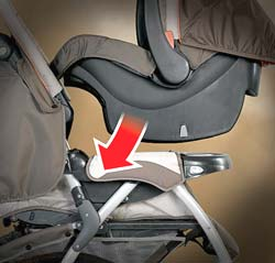 Chicco Cortina Travel System snap in
